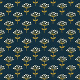 Floral seamless pattern. Vector background. Stock Images