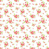 Floral seamless pattern. Vector background. Royalty Free Stock Photos