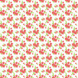 Floral seamless pattern. Vector background. Royalty Free Stock Photo