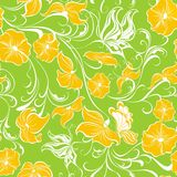Floral seamless pattern. Vector illustration stock illustration
