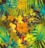 Floral seamless pattern Stock Photos