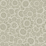 Floral seamless pattern. Vector illustration. Background. Floral shapes. Endless texture can be used for printing onto fabric and royalty free stock images