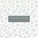 Floral Seamless Pattern. Vector illustration with berry twigs royalty free illustration