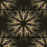 Floral seamless pattern. Vector illustration. Vector illustrationnbackground eps 10 vector illustration
