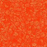 Floral seamless pattern. Vector illustration. Royalty Free Stock Images