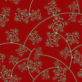 Floral Seamless Pattern 1 Stock Photos