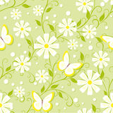 Floral seamless pattern Stock Image
