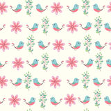 Floral seamless pattern (wrapping paper) Stock Photography