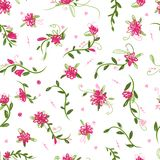 Floral seamless pattern for your design Royalty Free Stock Photos