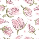 Floral seamless pattern for your design Royalty Free Stock Photography