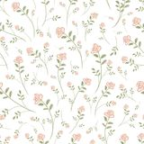 Floral seamless pattern for your design Royalty Free Stock Photo