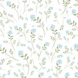 Floral seamless pattern for your design Stock Image