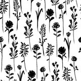 Floral seamless pattern for your design Stock Images