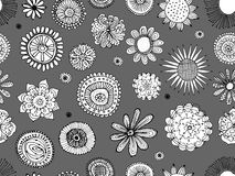 Floral seamless pattern for your design Stock Photo