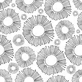 Floral seamless pattern for your design Royalty Free Stock Images