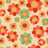 Floral Seamless Patterns. Floral seamless pattern on Easter theme whith flower. Easter Spring background with flower colorful. Pattern for scrapbook and wraping Stock Image
