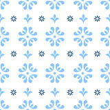 Floral seamless repeating Stock Photo