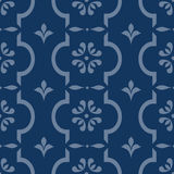 Floral seamless repeating Royalty Free Stock Photography
