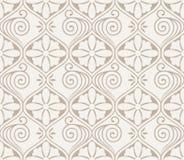 Floral seamless royal wallpaper Stock Image