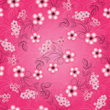 Floral seamless spring pattern Royalty Free Stock Images
