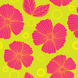 Floral seamless summer pattern Royalty Free Stock Photography