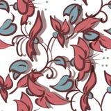 Floral seamless texture Stock Photo