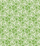 Floral seamless texture. Vector texture consist of green patterns. Vector illustration Stock Photo