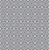 Floral seamless texture. Abstract grey floral geometric Seamless Texture Stock Images