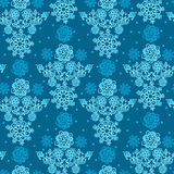 Floral Seamless Texture, endless pattern with flowers. Stock Photo
