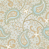 Floral seamless texture. Ornate floral seamless texture. Persian style background. It can be used for wallpaper, pattern fills, web page background, surface Royalty Free Stock Photos