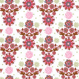 Floral Seamless Texture. Stock Photography