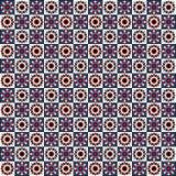 Floral seamless tile Royalty Free Stock Photos