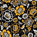Floral seamless background-wallpaper Royalty Free Stock Photo