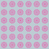Floral seamless vector beautiful background modern pattern.  Royalty Free Stock Photography