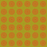 Floral seamless vector beautiful background modern pattern.  Stock Photo
