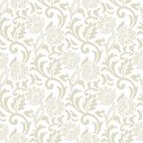 Floral seamless vector design Royalty Free Stock Photos