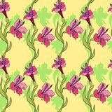 Floral seamless vector pattern Stock Photo