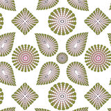 Floral seamless vector pattern. Royalty Free Stock Photography