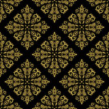Floral Seamless Vector Pattern. Orient Abstract Stock Images