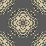 Floral Seamless Vector Pattern. Orient Abstract Royalty Free Stock Photos