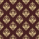 Floral Seamless Vector Pattern. Orient Abstract Stock Image