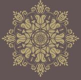 Floral Seamless Vector Pattern. Orient Abstract Royalty Free Stock Photography
