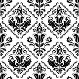Floral Seamless Vector Pattern. Orient Abstract Royalty Free Stock Photo