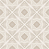 Floral seamless vector wallpaper Royalty Free Stock Image