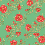 Floral seamless vintage pattern Royalty Free Stock Photography