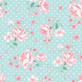 Floral seamless vintage pattern 3 Royalty Free Stock Images
