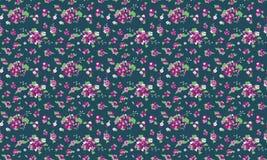 Floral flower pattern vintage background stock illustration