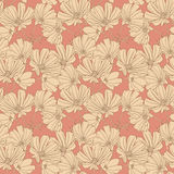 Floral seamless wallpaper Royalty Free Stock Photos