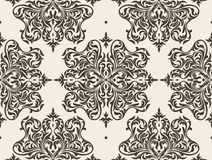 Floral seamless wallpaper Stock Photos