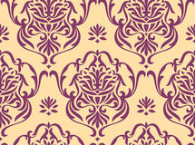 Floral seamless wallpaper Royalty Free Stock Photography